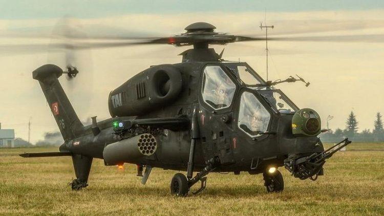4 terörist Atak helikopterleri tarafından öldürüldü
