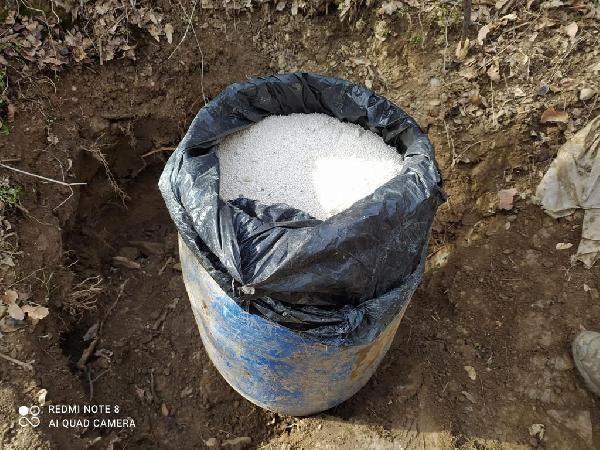 Bitlis te 100 kilo amonyum nitrat ele geçirildi