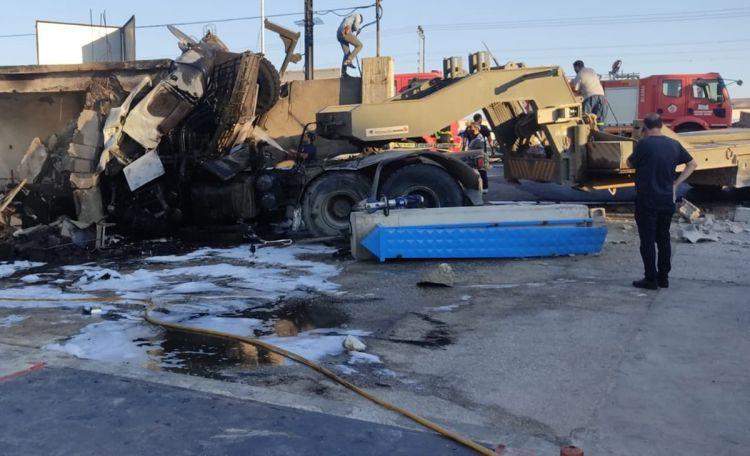 Hatay'da kaza 2 Askerimiz Şehit oldu