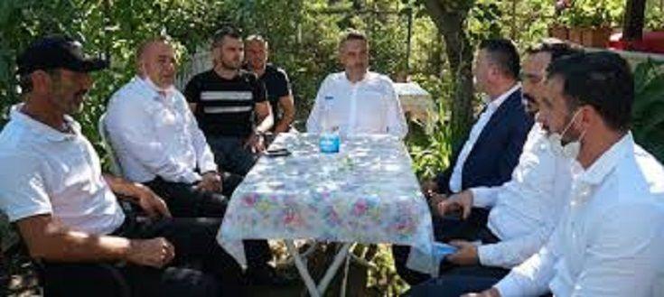 Şehit aileleri ve Gazilere Bayram ziyareti