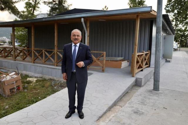 Şehit aileleri ve gazilere yeni dernek binası
