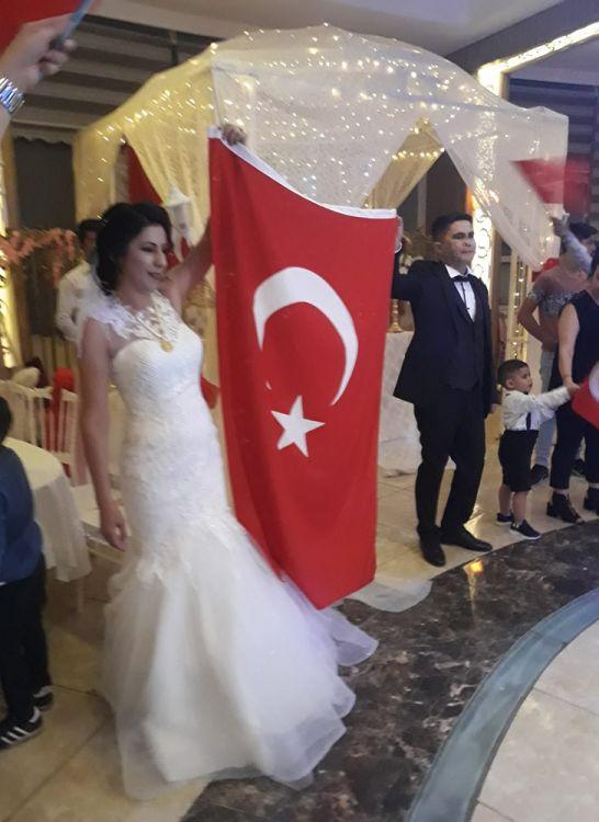 Suriye Gazisine nişanlısından düğün sürprizi
