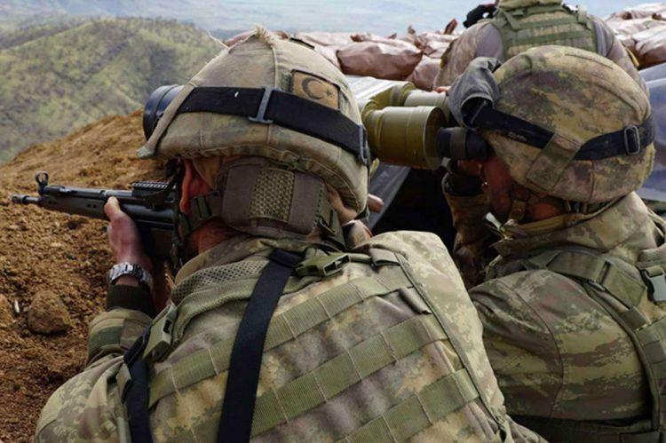 Suriye'de 9 terörist öldürüldü