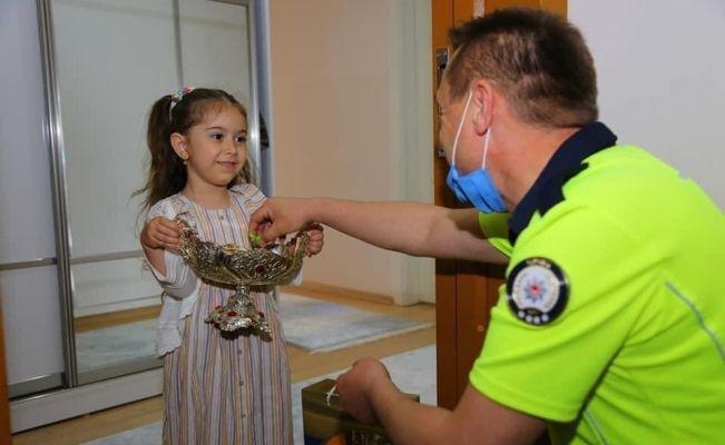 Ünye de Şehit Yakınları ve çocuklarına Bayram ziyareti