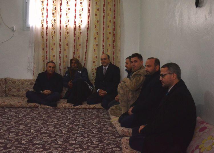 Vali'den Şehit Polis'in Ailesine Ziyaret