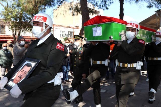 Vefat eden Kıbrıs Gazisi defnedildi