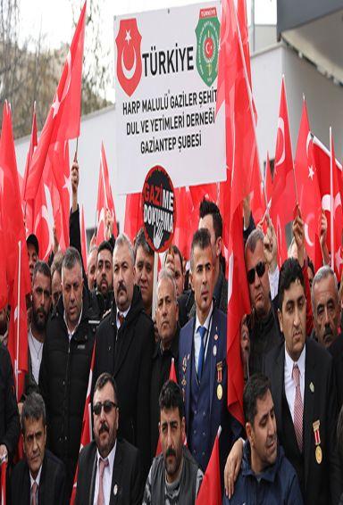 Maaşı Kesilen ve Emekliliği iptal edilen Gaziler 54 gündür mağdur