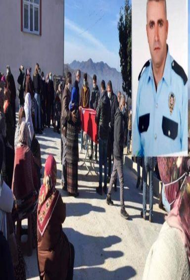 Şehit Polis  düzenlenen törenle toprağa verildi