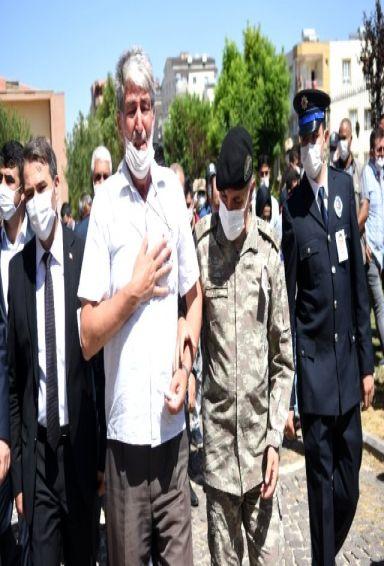 Şehit Polis memuru tören sonrası memleketine gönderildi