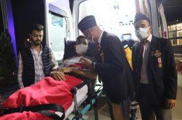 O Kahraman Gaziyi, Gaziler karşıladı
