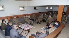 11 sene önce  Şehit olan 5 Asker için anma programı yapıldı