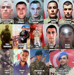 15 Şehit 55 Gazi Kayseri Şehit ve Gazileri Unutma-Unutturma
