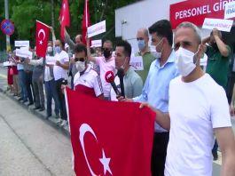 15 Temmuz Gazileri 3 gündür Bakanlık önünde eylemde