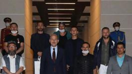 15 Temmuz Gazileri  Süleyman Soylu ile görüştü