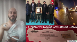 15 Temmuz Gazisi kazada vefat etti