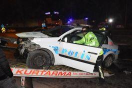2 Polisimiz Kırıkkale'de kazada yaralandı