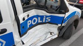 2 Polisimiz Samsun'da Kazada yaralandı