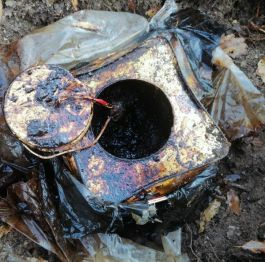 25 kilo El Yapımı Patlayıcı ele geçirildi