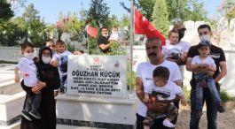 3 yıl önce Şehit olan Asker mezarı başında anıldı