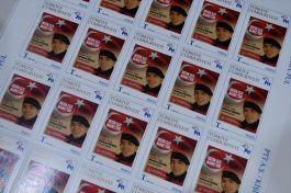 303 Şehit için özel anı Posta pulu bastırıldı
