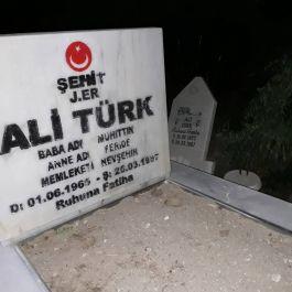 31 yıl aradan sonra şehit mezarı olarak yenilendi.