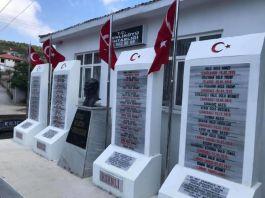 320 Çanakkale Şehidi için yapılan anıt açıldı