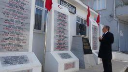 320 şehit anısına, 69 mahalleye 74 anıt yaptırıldı
