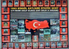 33 Askerin Şehit edilmesi(Katliamı) tam 27 yıl oldu