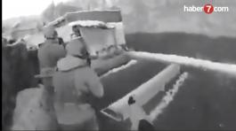 4 Askerimizin yaralandığı çatışma görüntüsü
