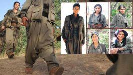 5 kadın teröristi başka terörist üzerlerine el bombası atarak öldürmüş