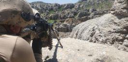 5 teröristin öldürüldüğü operasyonun görüntüleri paylaşıldı