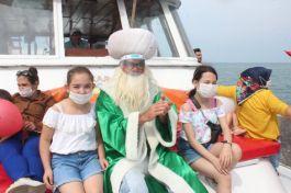 55 Şehit ve gazi çocuğu için tekne turu düzenlendi