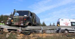 8 Asker Edirne'de Kazada Yaralandı