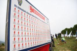 97 Şehit polis için hatıra ormanı oluşturuldu