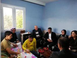 Adana'lı Suriye idlip Gazilerine  evlerinde ziyaret