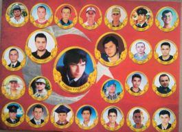 Afyonkarahisar'da Şehit olan 25 Asker törenle anıldı
