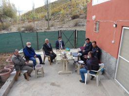 Ahırlı'da Şehit ailesi ziyaret edildi