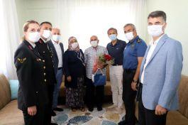 Akdeniz'de Gazilere ziyaretler