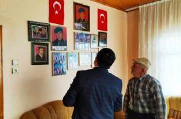 Alaçam Kaymakamı Şehit Ailelerini ziyaret etti