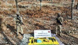 Amanoslar'da PKK ya ait sığınak bulundu