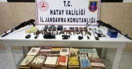Amanoslar'da PKK'ya ait silah ve mühimmat bulundu