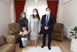 Vali Masatlı'dan Şehit ailesine bayram ziyareti