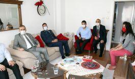 Anamur'da Şehit ailelerine bayram ziyareti