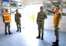 Ankara Askeri Kışlada yoğun koronavirüs önlemi