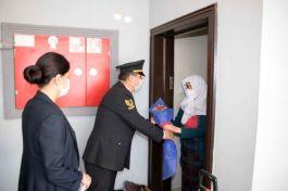 Antalya Jandarma, 163 şehit annesini tek tek ziyaret etti