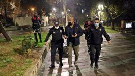 Antalya'da parkta Apo'nun askeriyim diyen 2 kişi gözaltına alındı