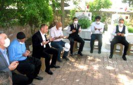 Araban'da Şehitlik ve Şehit aileleri ziyaret edildi