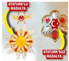 Araplar İstemediği için Atatürk madalyalardan çıkarıldı