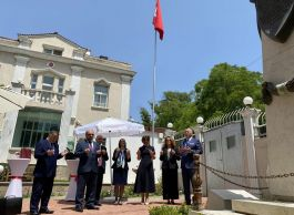 ASALA nın Şehit ettiği diplomat törenle anıldı