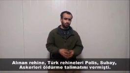 Asker ve Polislerimiz nasıl şehit edildi,Teslim olan teröristler anlattı(Video haber)